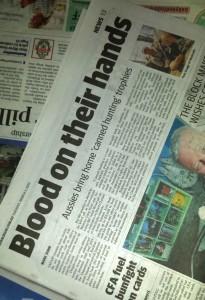 Herald Sun 3 March 2015