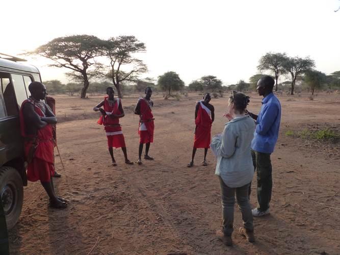 Lynn in Kenya